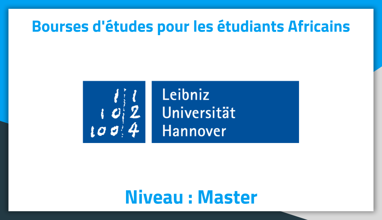 bourses d u0026 39  u00e9tudes allemagne leibniz university of hannover 2019