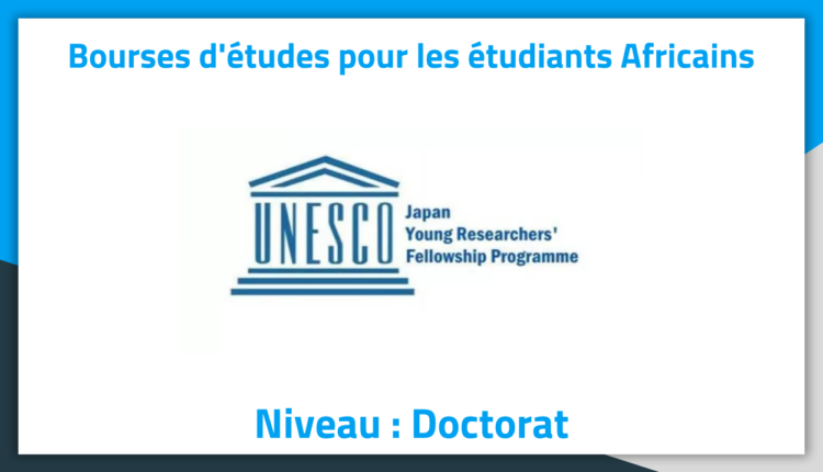 Bourses d'études au Japon UNESCO Japan Young Researchers 2019 Bourses d'études au Japon UNESCO Japan Young Researchers 2019