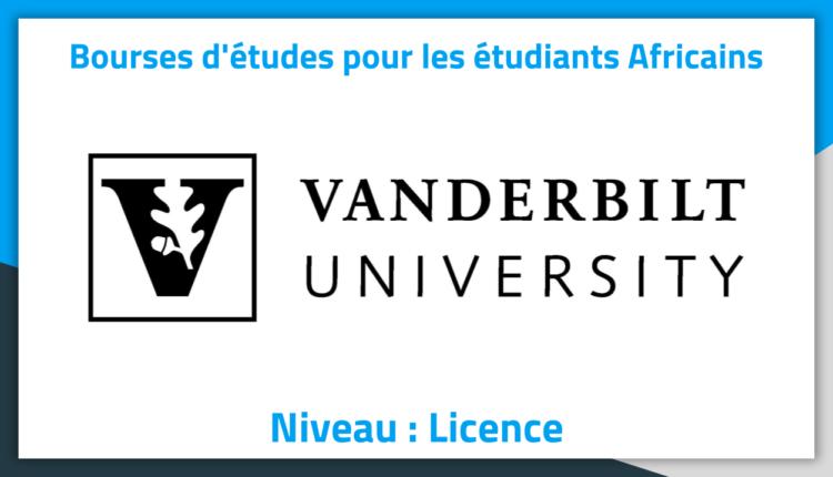 Bourses d'études aux Etats-Unis Vanderbilt University 2019 Bourses d'études aux Etats-Unis Vanderbilt University 2019