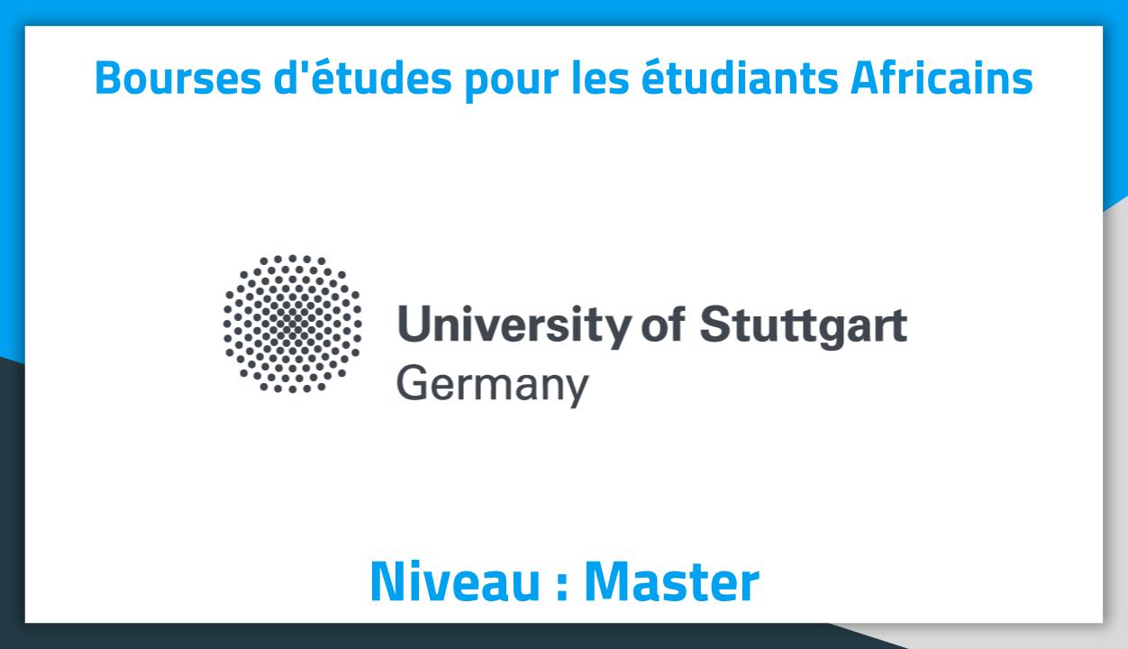 bourses d u0026 39  u00e9tudes en allemagne stuttgart university 2019