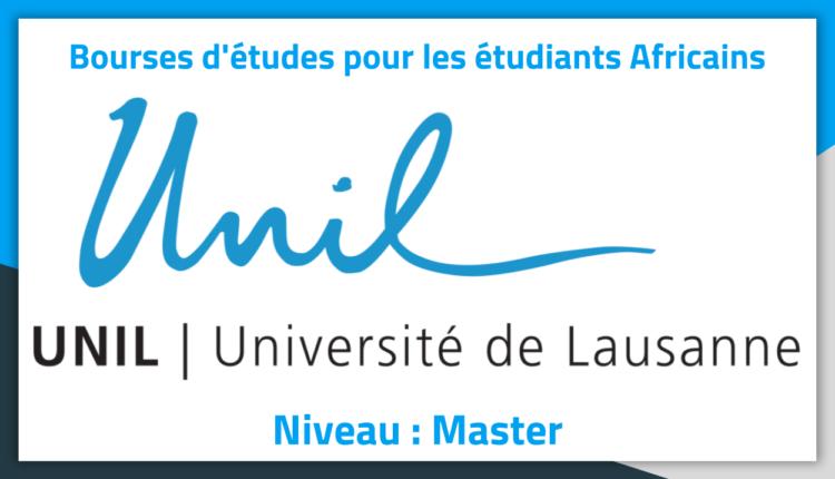 Bourses d'études en Suisse à l'Université de Lausanne 2019 Bourses d'études en Suisse à l'Université de Lausanne 2019