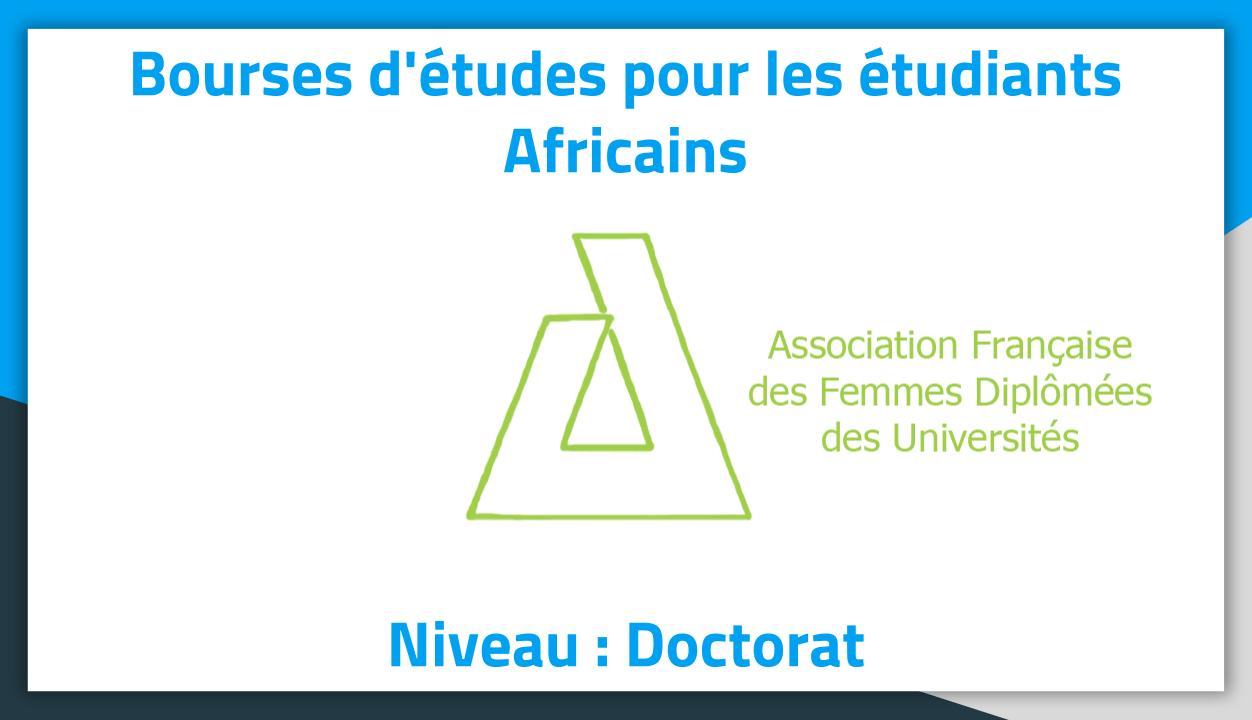 Bourses D études Niveau Doctorat Affdu France 2019