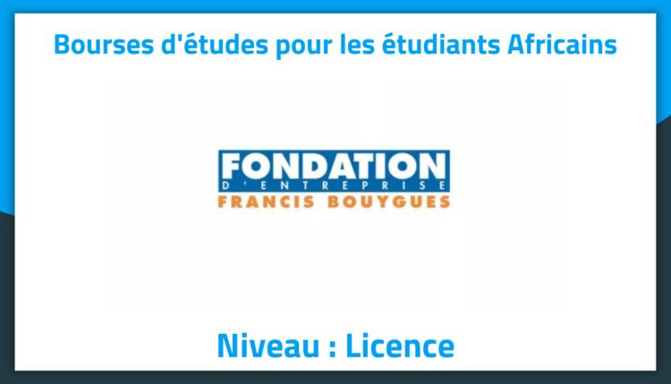 Bourses d'études Francis Bouygues en France 2019 Bourses d'études Francis Bouygues en France 2019
